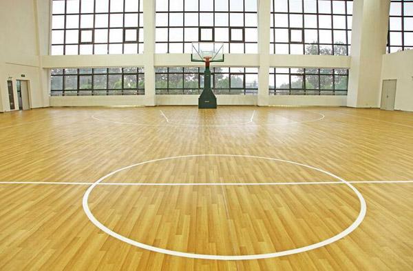室内篮球场运动木地板
